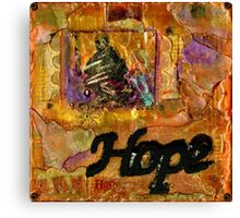 A Life of HOPE Canvas Print