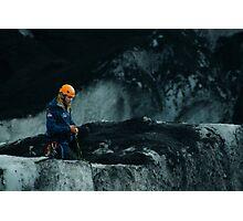 Glacier Guide Photographic Print