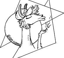 fennel the llama by virtuart