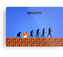 99 Steps of Progress - Longevity Metal Print