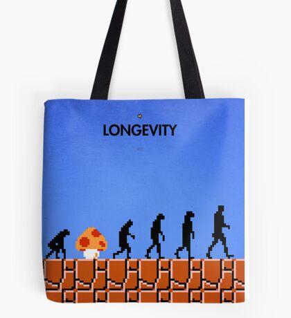 99 Steps of Progress - Longevity Tote Bag