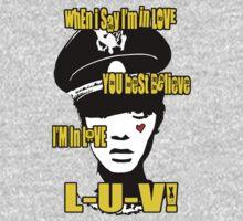 L-U-V! x. T-Shirt