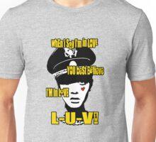 L-U-V! x. Unisex T-Shirt