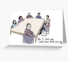 Study Group Greeting Card