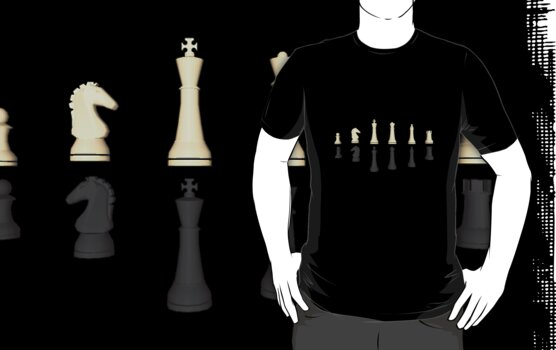 Chess Pieces by bradyarnold