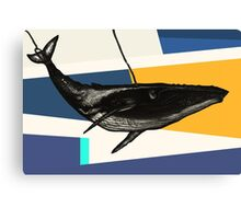 Message from the Whale Canvas Print
