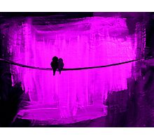 Two Is Better Than One ~ Purple Photographic Print