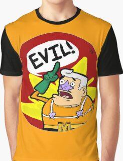 Mermaid Man- EVIL! Graphic T-Shirt