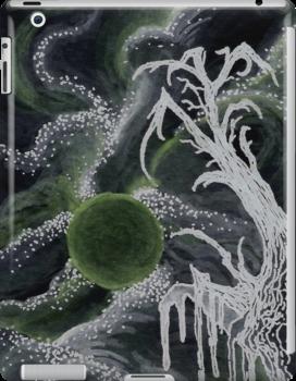 Tree in Green Moonlight by Anthony McCracken