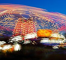 Long Exposure Fair Ride Motion by Jamie Roach