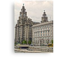 The Liver Buildings - Liverpool Canvas Print