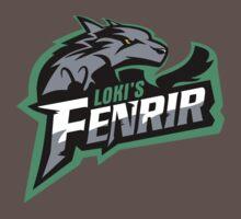Loki's Fenrir by ikaszans