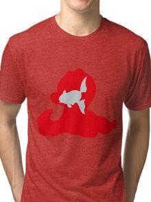 PKMN Silhouette - Remoraid Family Tri-blend T-Shirt