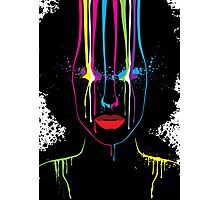 Afro Girl Print Photographic Print