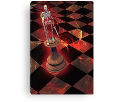The Game of Kings Canvas Print