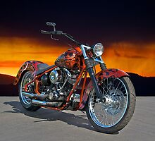 HD Custom Motorcycle by DaveKoontz