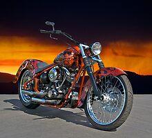 HD Custom Motorcycle by DaveKoontz