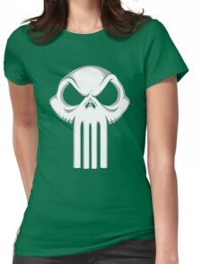 The Punisher King Womens Fitted T-Shirt