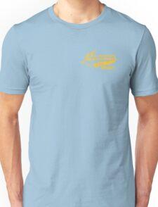 AWESOME BARNEY (yellow type) Unisex T-Shirt
