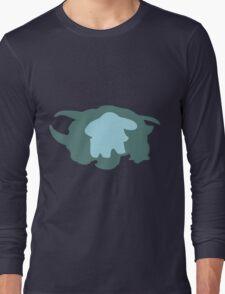 PKMN Silhouette - Phanpy Family Long Sleeve T-Shirt