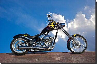 Custom Chopper 1 by DaveKoontz