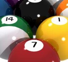 Billiards / Pool Balls Sticker