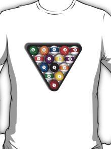 Billiards / Pool Balls T-Shirt