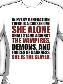 """In every generation..."" T-Shirt"