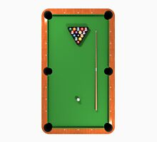 Billiards / Pool Balls on Table Unisex T-Shirt