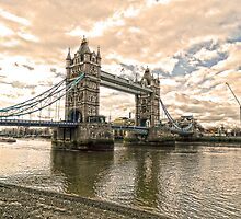 Tower Bridge London by DavidWHughes