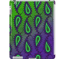 Paisley on Green & Purple Gradient, iPad Case iPad Case/Skin