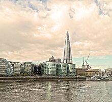 Thames Waterfront by DavidWHughes