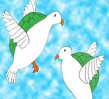 Two Turtle Doves by stompgal