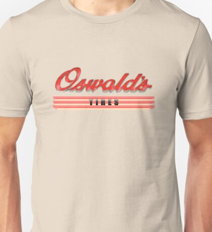 Oswald's Tires Unisex T-Shirt