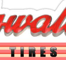Oswald's Tires Sticker