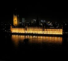 House of Parliment-London UK by joshuatree2