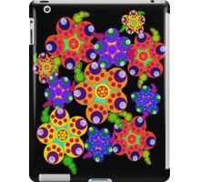 Carnival Colors Flowers iPad Case iPad Case/Skin
