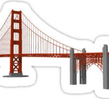 Golden Gate Bridge San Francisco Sticker