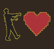 8 bit Zombie Love by BUB THE ZOMBIE