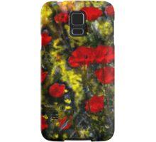 Poppy Family Samsung Galaxy Case/Skin