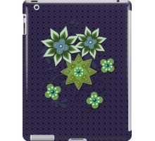 Navy and Green Floral Pattern iPad Case iPad Case/Skin