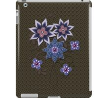 Brown and Purple Floral Bouquet iPad Case iPad Case/Skin