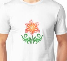 Vector Flower & Flourishes Unisex T-Shirt