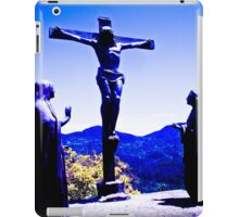 Human! God who sees and hears everything. iPad Case/Skin
