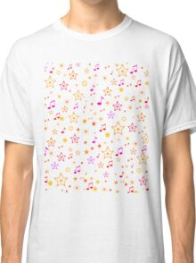 Musical Notes and Stars Classic T-Shirt
