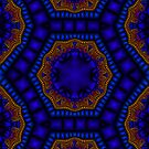 Cathedral Ceiling - Fractal Jewels Series by Susan Sowers
