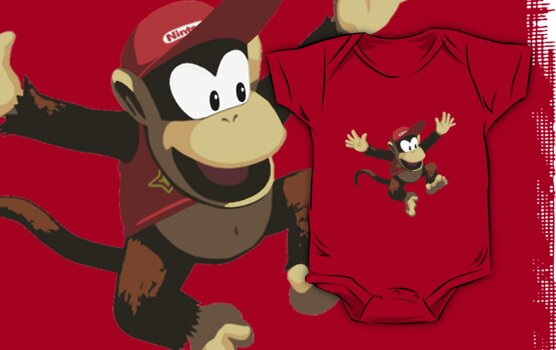 Diddy Kong by yoon2972