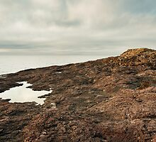 Lake Superior Lava Rift by April Koehler