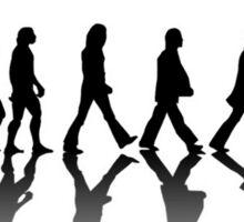 Beatles Evolution Sticker