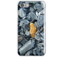 Macro Rocks Brown Leaf iPhone Case/Skin